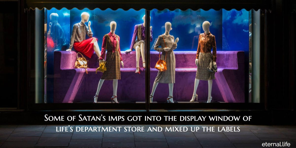 lifes department store satan imps