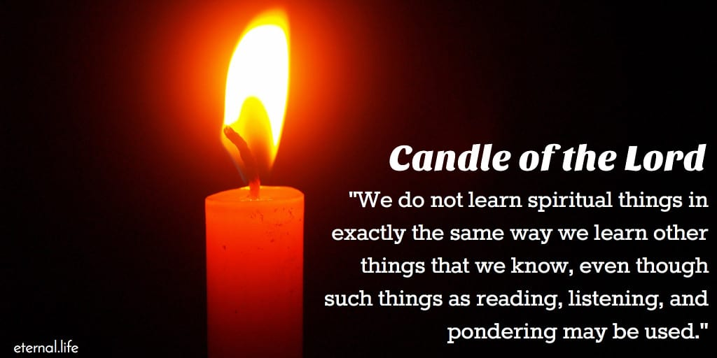 candle of the lord boyd k. packer